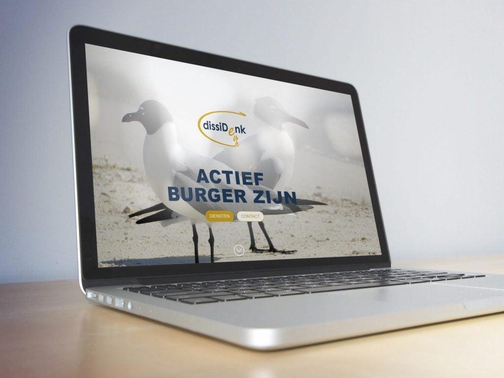 Een stijlvolle en functionele website met een vleugje provocatie.