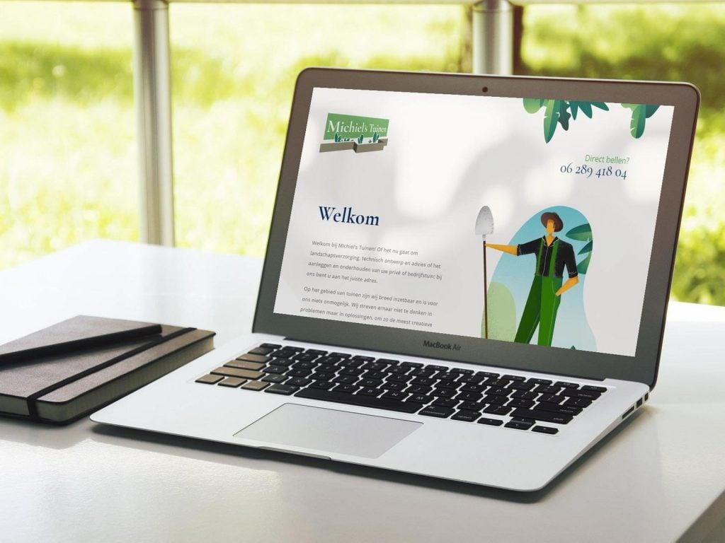 Nieuwe website voor MichielsTuinen
