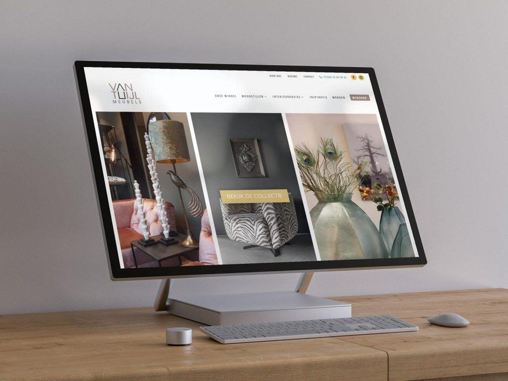 Nieuwe website voor Van Tuijl Meubels