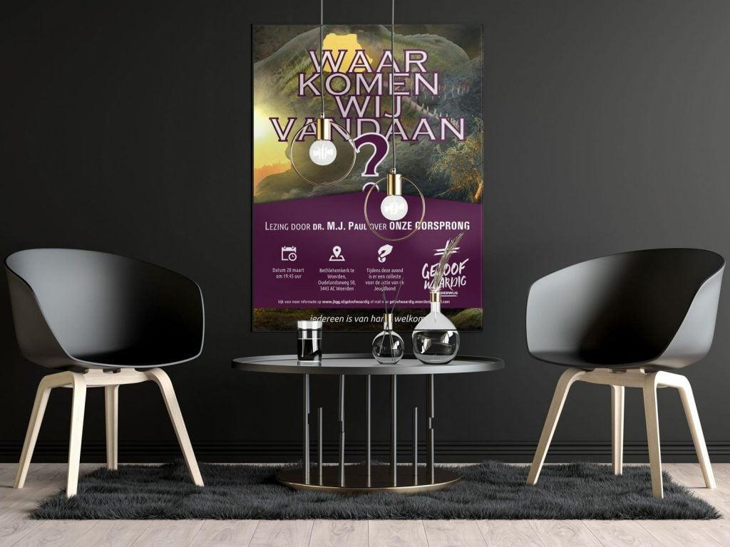 Poster Jeugbondactie Geloofwaardig