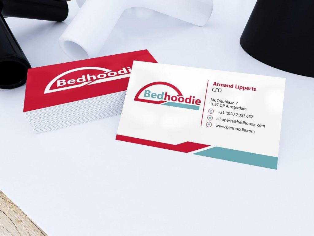 Visitekaartjes voor Bedhoodie